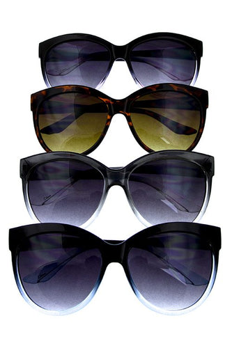 Womens classic high pointed sunglasses