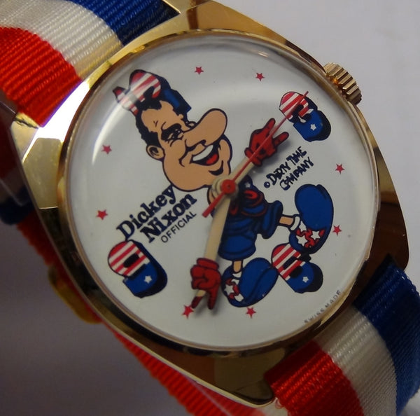 "Richard Nixon Watchmen: Dirty Time ""Nixon"" Mechanical Wrist Watch"