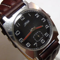 Zim Men's Silver 17Jwl U.S.S.R. Watch - Great Condition