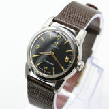 1956 Omega Seamaster Men's 17 Jwl Swiss Made Silver Watch w/ Omega Strap