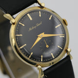 1950s Mathey - Tissot Men's Solid 14K Gold Swiss Made Watch