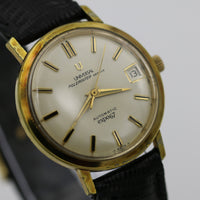 Universal Polerouter Expo 67 Men's Gold Swiss Automatic 28Jwl Microrotor Watch