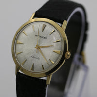1950s Wittnauer Mens Swiss Made Automatic 10K Gold Watch