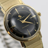 1960s Paul Breguette Men's 10K Gold Automatic Watch w/ Box