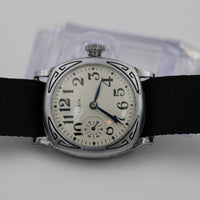 1915 Elgin Men's Silver Made in USA Watch - Very Rare