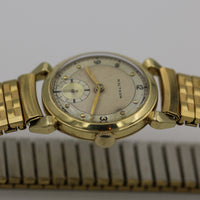 1946 Waltham Men's Solid 14K Gold Made in USA 21Jwl Watch