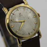 1950 Omega Men's 17 Jwl 14K Gold Swiss Made Watch