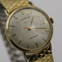 Longines Men's Swiss Made 10K Gold Automatic Watch w/ Bracelet