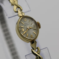 Girard-Perregaux Ladies Solid 14K Gold Swiss Made 17Jwl Watch