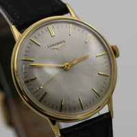 Longines Men's Swiss Made Gold Gorgeous Dial Extra Clean Watch w/ Strap