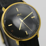 Mido Men's Swiss Made Ocean Star Gold Powerwind Watch w/ Aligator-Lizard Strap
