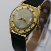 Zodiac Men's Gold Swiss Made Unique Dial Watch