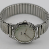 Zodiac Men's Silver Swiss Made Unique Dial Watch w/ Bracelet