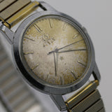 1950s Titus Men's Swiss Made 21Jwl Silver Hidden Crown Triple Signed Watch w/ Bracelet