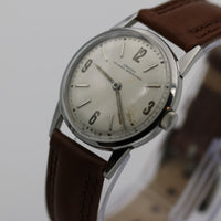 Croton Nivada Grenchen Men's Swiss Silver Watch