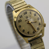1973 Bulova Accutron 10K Gold Men's Sunburst Dial Watch