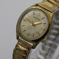 1972 Bulova Accutron 18K Gold Men's Unique Bezel Watch w/ Bracelet
