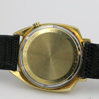 1968 Bulova Accutron 14K Gold Men's Asymmetrical Case Watch w/ Accutron Strap
