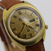 1974 Bulova Accutron 10K Gold Men's Calendar 2182 Watch