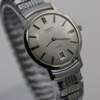 Tissot Men's Stylist Silver Swiss Made Calendar Fully Signed Watch