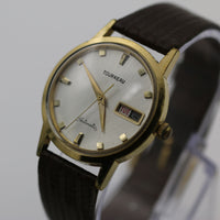 Certified Tourneau Men's Automatic 17Jwl Gold Calendar Watch