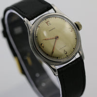Tavannes Men's Swiss Made Silver Very Clean Watch w/ Strap