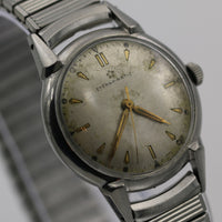 1940s Eterna-Matic Swiss Made Automatic Men's Silver Watch