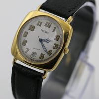 Seiko / Pulsar Men's Quartz Gold Calendar Retro Style Watch