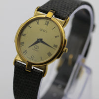Gucci Men's Swiss Made Gold UltraThin Quartz Watch