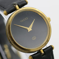 Gucci Men's Swiss Made Gold Ultra Thin Watch