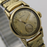 Hamilton Men's 10K Gold Swiss 17Jwl Fancy Lugs Watch