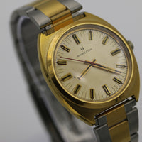 Hamilton Men's Gold Swiss Made 17Jwl Watch w/ Bracelet