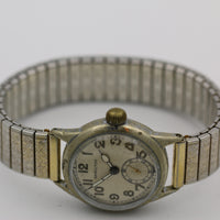 1943 WWII Hamilton Made in USA 17Jwl Military Marine Edition Ord Dept USA Gold Watch