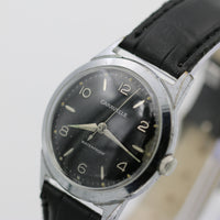 1967 Bulova-Caravelle Men's Silver Interesting Dial Fully Signed Watch w/ Strap