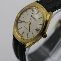 1980 Bulova-Caravelle Men's Gold Automatic 17Jwl West Germany Watch