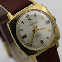 1974 Bulova-Caravelle Gold 17Jwl Swiss Made Calendar Watch