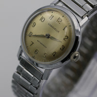1964 Bulova / Caravelle Men's Swiss Made Silver Watch with Silver Bracelet