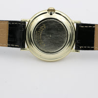 Sovereign Men's Gold Calendar Fancy Dial Watch w/ Strap