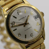 1974 Bulova / Caravelle Men's Gold Automatic 17Jwl Made in West Germany Watch