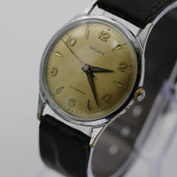 1950s Gruen Men's Swiss Automatic 17 Jewels Silver Watch