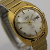 Gruen Men's Swiss Made Gold 17Jewels Dual Calendar Watch - Ultra Mint Condition