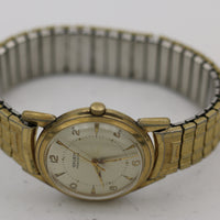 1950s Gruen Men's Swiss Gold 17Jwl Watch w/ Speidel Gold Bracelet