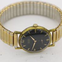 1960s Gruen Men's Swiss Gold 17Jwl Watch w/ Bracelet