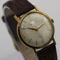 1964 Bulova Men's Swiss 17Jwl 10K Gold Ultra Thin Watch