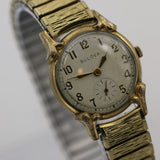 1951 Bulova Men's Swiss Made 17Jwl Gold Fancy Lugs Watch w/ Bracelet