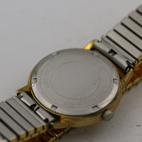 1972 Bulova Men's 17Jwl Gold Calendar Watch w/ Bracelet