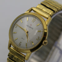 Helbros Invincible Men's Gold Made in Germany 17Jwl Watch