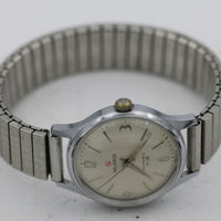 Helbros Invincible Men's Silver Made in France Watch