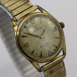 Helbros Men's Gold Made in Germany 17Jwl Automatic Calendar Watch