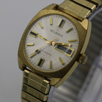 Helbros Men's Gold Made in West Germany Automatic 17Jwl Watch
